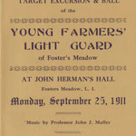 YFLG Target and Excursion Invitation - Sept. 15, 1911