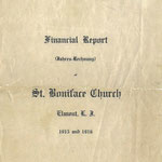 1915 and 1916 - Financial Report (Jahres-Rechnung)