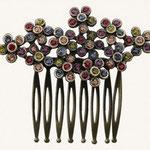 Peineta ref.4 multicolor cobre   27,50€  (5 x 2,7cm)