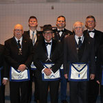 Clifford Duell Lodge #756 Lodge Officers for 2014.
