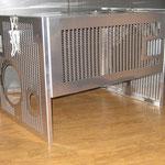 am Fertigung von Kühl- Schutzeinrichtungen