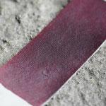 Japanese steer hand dyed burgundy