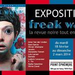 Freakwave n°5, parution en février 2014 aux éditions Bruits Blancs + expo au Point Ephémère