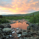 Another great sundown near Geilo. It does not really get dark during this time of the year