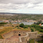 Marstrand island is dominated by a giant fortress which dates back to the 17th century