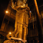 The 26m high Buddha was financed by private donations in 1991was re-introduced to Mongolia after the comunist period