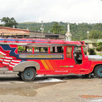 "these ""jeepneys"" are still a common sight"