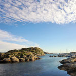 On our way to Marstrand - a small islet on Swedens west coast just north of Gothenburg