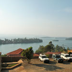 Back at Lake Kivu, near the Rwandan border