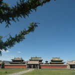 Erdene Zuu monastery in Kharakorum, Mongolia's ancient capital where Gengihs Khaan resided