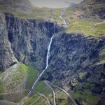Stigfossen waterfall (320m)