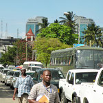 finally....Daressaalam, Tanzania's largest city on the Indian Ocean coastline