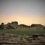 Bagazriin Chuluu, some bizarre rock formations in the Gobi desert