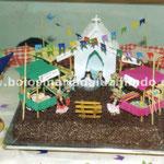 Bolo Festa Junina (Quermesse)
