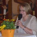 """Josefine Schaffer war mit ihren Mundartgedichten das vergnügliche """"Sahnehäubchen"""" dieses Konzertes"""