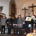 Viel Applaus beim Konzert in der Kalvarienbergkirche