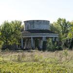 Vista tempio dal lato a Nord 2013