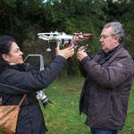 Ultime regolazioni del Drone