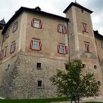 Lato posteriore castello di Thun (Tn)
