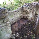 Resti del pavimento di una cella 2013