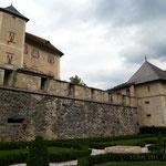 Giardini del castello di Thun (Tn)