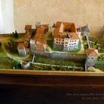 Modellino del castello di Thun (Tn)