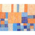 An die See I, 40x80 cm, Acryl,Papier,Leinwand, 2005