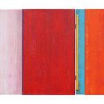 Zwei Birdies III, 50x73 cm, Öl auf Nessel und MDF, 2009