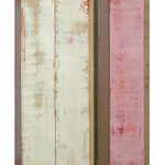 Glaubhafte Handlung IV, 100x79 cm, Öl auf Leinwand und MDF, 2013