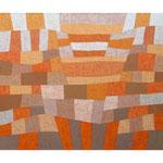 Präludium, 100x120 cm, Acryl,Papier,Leinwand, 2001
