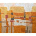 Habanera, 100x120 cm, Acryl,Papier,Leinwand, 2008