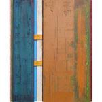 Glaubhafte Handlung II, 100x78 cm Öl auf Leinwand und MDF, 2013