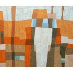 Honeymoon I, 80x100 cm, Acryl,Papier,Leinwand, 2010