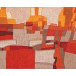 Sierra, 90x160 cm, Acryl,Papier,Leinwand, 2007