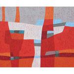 Bellevue II, 80x100 cm, Acryl,Papier,Leinwand, 2010