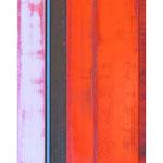 Klare Ausrichtung II, 180x90 cm, Öl auf Leinwand und MDF, 2013