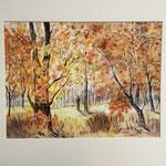 Herbstwald 1996, 50 x 60 cm, 180,00 €