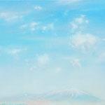 南部片富士 F6 油彩、アクリル、キャンバス