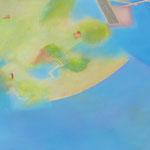 ピクニック F80号   112×145.5cm アクリル・油彩・キャンバス