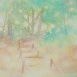 ひのあたるところ SSM 油彩、アクリル、キャンバス