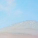 雲と残雪 M6 油彩、アクリル、キャンバス