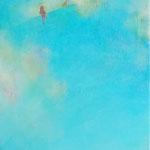 take a walk-3 33.3×24.2cm    アクリル、油彩、キャンバス
