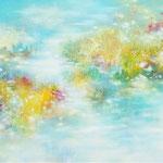 ひかりのけしき -1 P30 油彩、アクリル、キャンバス