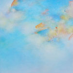 take a walk-5 41×41cm アクリル、油彩、キャンバス