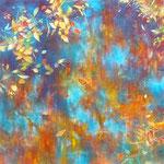 みずかがみ-1 S15 油彩、キャンバス