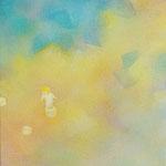 のぼっておりて 33.3×24.2cm アクリル、油彩、キャンバス