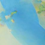 水あそび F130号  194×162cm アクリル・油彩・キャンバス(FACE2014損保ジャパン美術賞 入選)