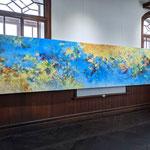 光を紡いで 展示風景 旧石井県令邸(展示は2021年)
