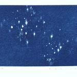 sky light -ⅰ アクアチント 9×12cm 2018