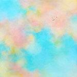 いろのはら-5   27.3×27.3cm     アクリル、油彩、キャンバス